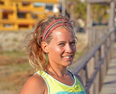 Lina på Sport-bh.nu