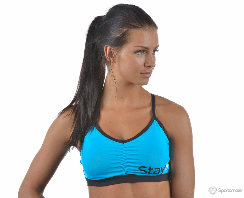 Stay In Place Sporty Strap Bra