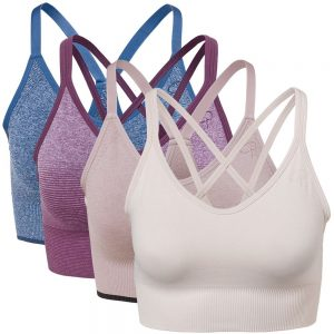 4-pack Light Support W Sports Bra Multi-colour