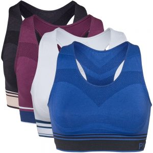4-pack Medium Support W Sports Bra Multi-colour