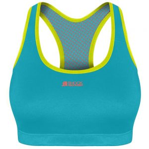 Active Crop Top Turquoise