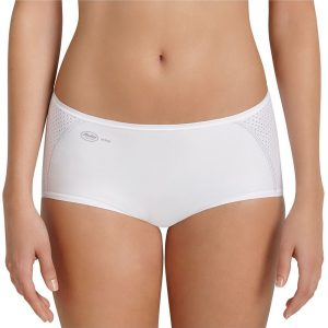 Active Sporty Brief Panty White