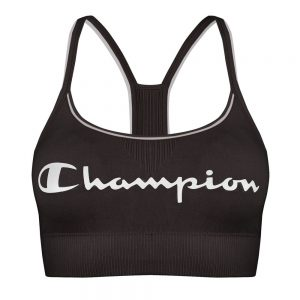 Champion Crop Top Signature Bra Black