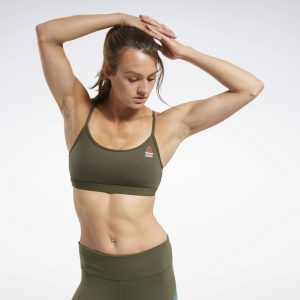 CrossFit® Skinny Strap Read Medium-Impact Bra
