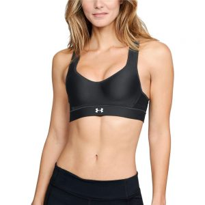 HeatGear High Impact Sports Bra Black