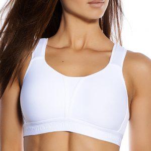 Kimberly Sport Bra White