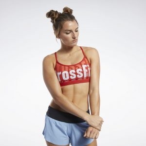 Reebok CrossFit® Medium-Impact Skinny Bra