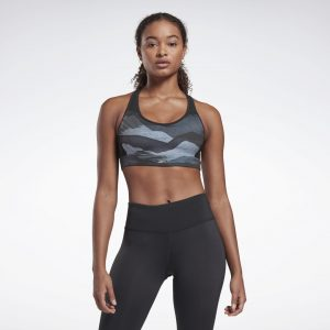 Run Lux Medium-Impact Racer Bra