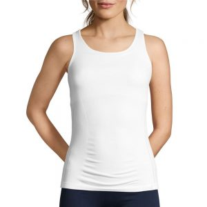 Seamless Support Racerback White