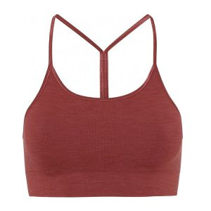 Sport-BH Yoga Seamless Zen Top Marsala - Moonchild Yogawear