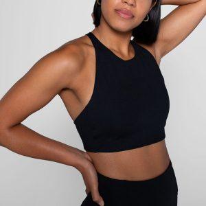 Sport-BH Yoga Topanga Black - Girlfriend Collective