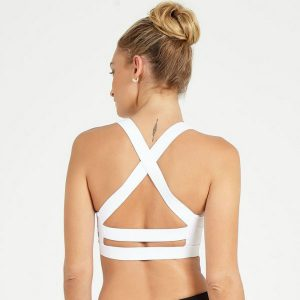 Sport-BH Yoga White Butterfly - Dharma Bums