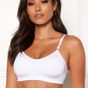 MAGIC Bodyfashion Comfort Spaghetti Bra White XXL