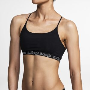 SOLID LIGHT SUPPORT SPORTS TOP Black Beauty,38