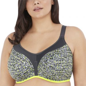 Energise Underwire Sports Bra Limegreen