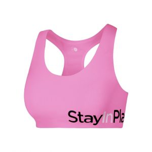 Active Sport Bra C/D, Bright Rose, Xl, Stay In Place
