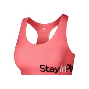 Active Sport Bra C/D, Fusion Coral, M, Stay In Place
