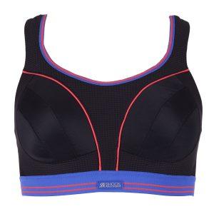 Ultimate Run Bra - White** - 6, Black Neon, 80g, Varumärken