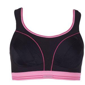 Ultimate Run Bra - White** - 6, Black/Pink, 65f, Varumärken