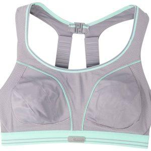 Ultimate Run Bra - White** - 6, Grey / Aloe, 85f, Varumärken