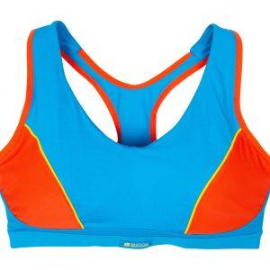 Active Sports Padded Bra - Bla, Blue/Grenadine, 80d, Varumärken