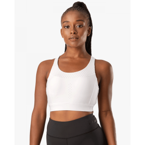 Energize Sports Bra, White