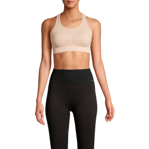 Soft Sports Bra, Focus Beige