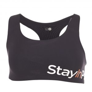 Active Sports Bra A/, Black, S, Stay In Place
