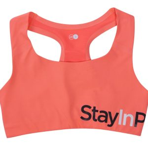 Active Sports Bra A/, Fusion Coral, S, Stay In Place