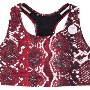 Iconic Sports Bra, Red Snake, Xsc/D, Casall