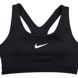 Nike Classic Pad Bra, Black/Black/White, Xxl, Nike