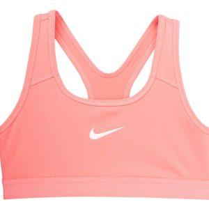 Nike Girls' Sports Bra, Pink Gaze /Pink Gaze /Pink Gaz, S, Nike