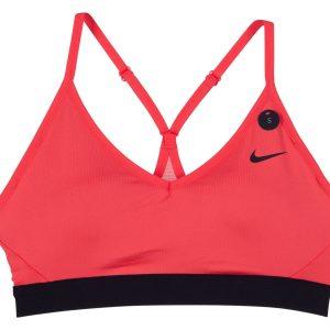 Women's Nike Indy Sports Bra, Ember Glow/Black/Black, Xl, Nike