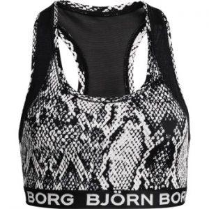 Björn Borg Performance Medium Top Sky Svart/Vit 36 Dam