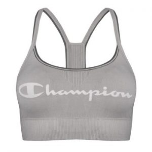 Champion Crop Top Signature Bra Grå Large Dam