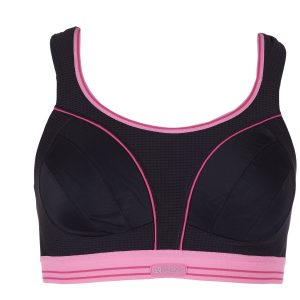 Ultimate Run Bra, Black/Pink, 80dd, Varumärken