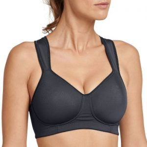 Schiesser BH Active Sport Medium Support Bra Antracit A 70 Dam
