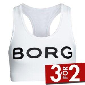 Björn Borg BH Performance Seasonal Solid Soft Top Vit polyamid 38 Dam