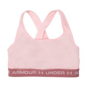 Ua Crossback Mid Bra, Beta Tint, Xl, Under Armour