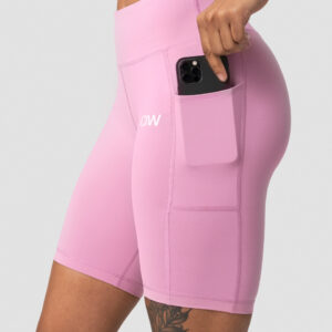 Classic Pocket Biker Shorts Dusty Pink Wmn - XS