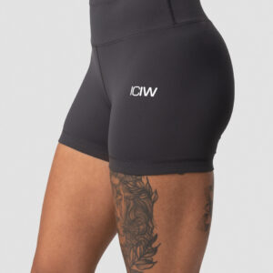 Classic V-shape Tight Shorts Anthracite Wmn - XL