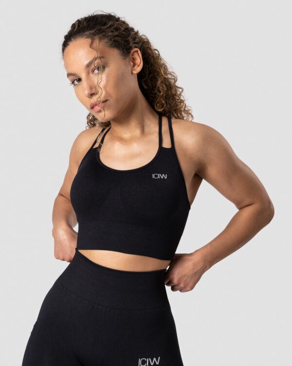 Define Seamless Sports Bra Black - L