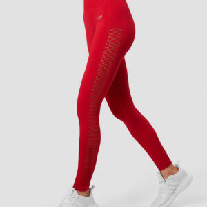 Dynamic Seamless Tights Deep Red Wmn - XS